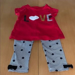Baby Girls Pants Set